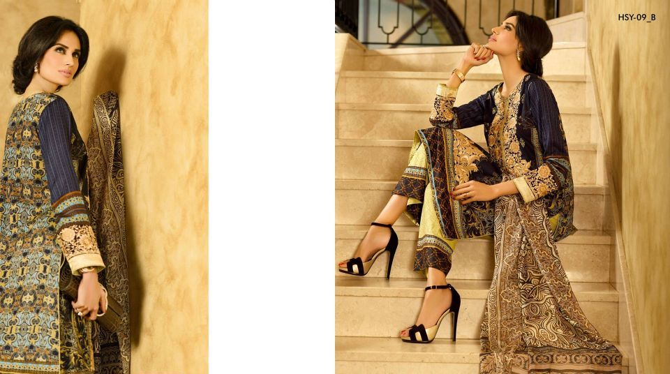 HSY Lawn 2015 by House of Ittehad Textiles summer collection for women (18)