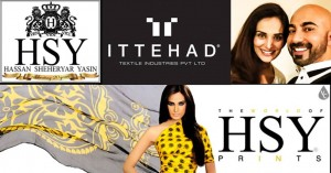 HSY Summer Lawn Collection 2015 by Ittehad Textiles