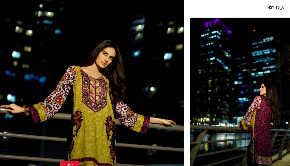 HSY Lawn 2015 by House of Ittehad Textiles summer collection for women  (29)
