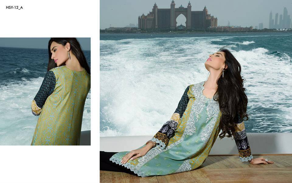 HSY Lawn 2015 by House of Ittehad Textiles summer collection for women  (3)