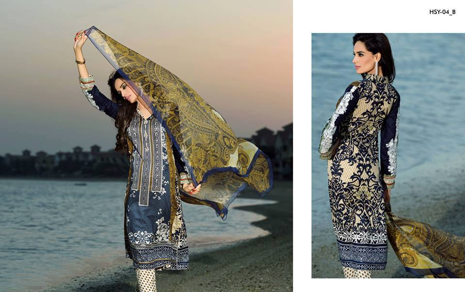 HSY Lawn 2015 by House of Ittehad Textiles summer collection for women (4)