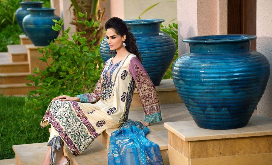 HSY Lawn 2015 by House of Ittehad Textiles summer collection for women  (5)
