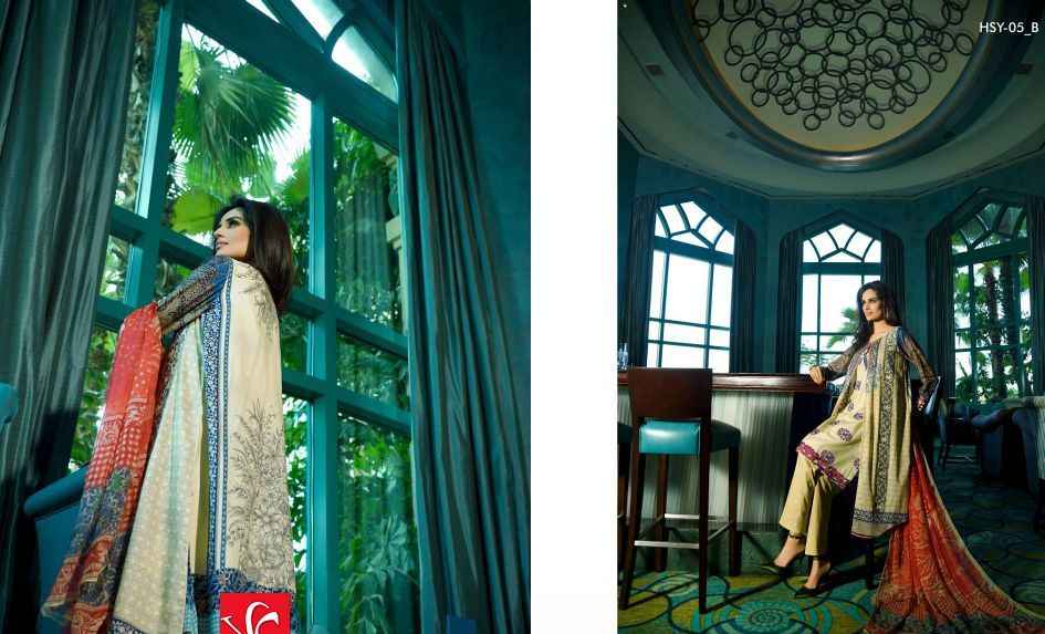 HSY Lawn 2015 by House of Ittehad Textiles summer collection for women (6)