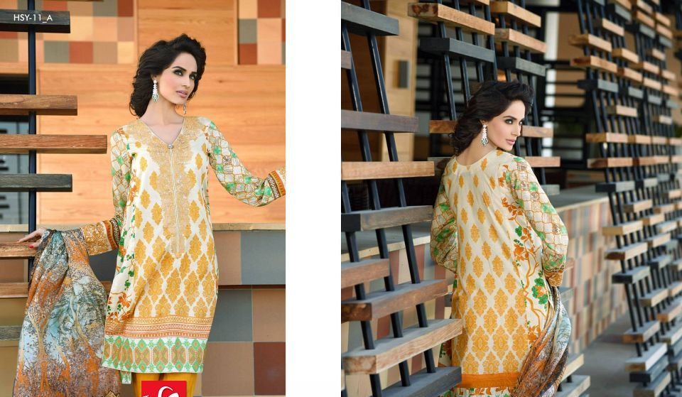 HSY Lawn 2015 by House of Ittehad Textiles summer collection for women (7)