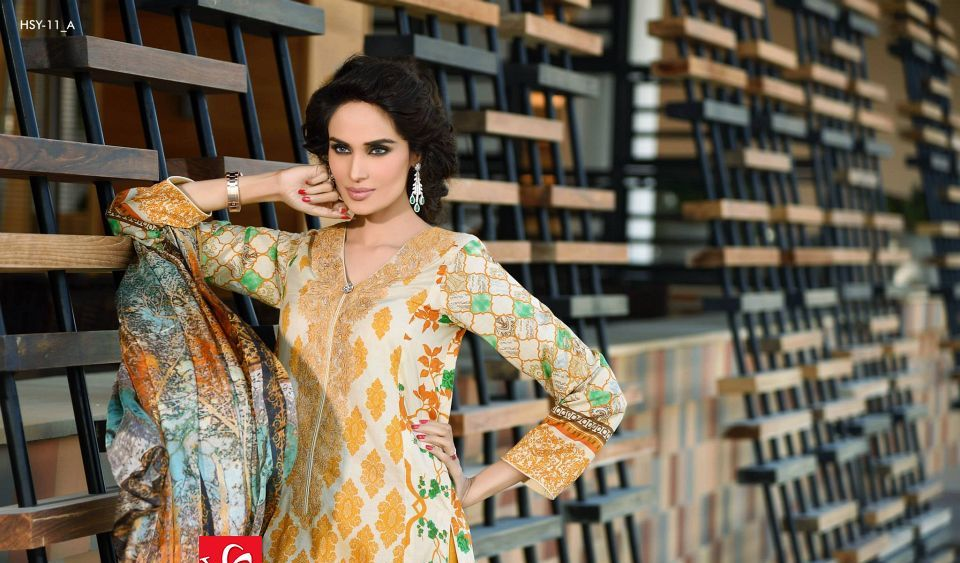 HSY Lawn 2015 by House of Ittehad Textiles summer collection for women (8)