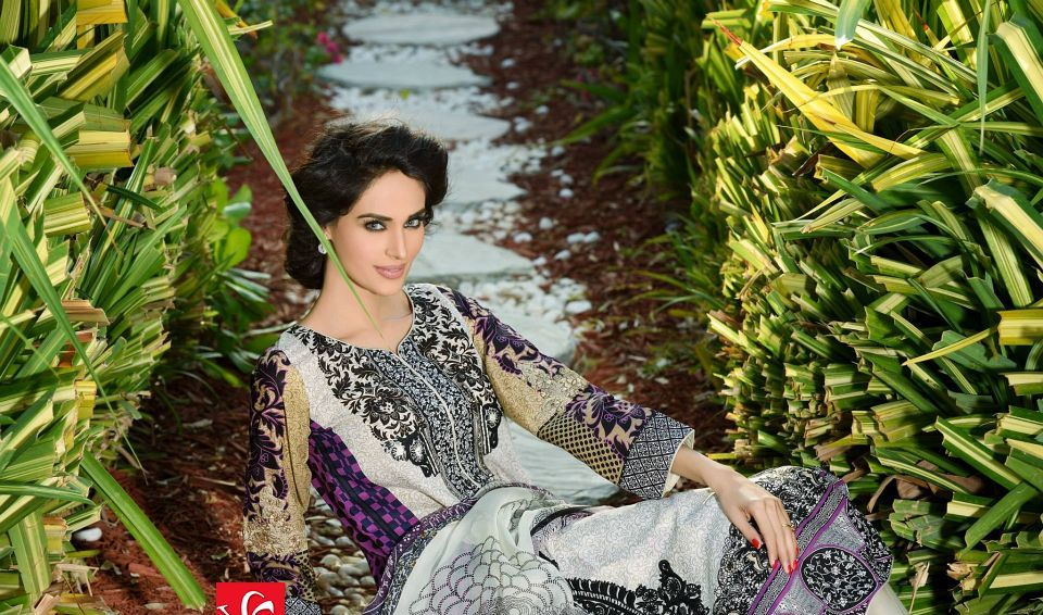 HSY Lawn 2015 by House of Ittehad Textiles summer collection for women  (9)