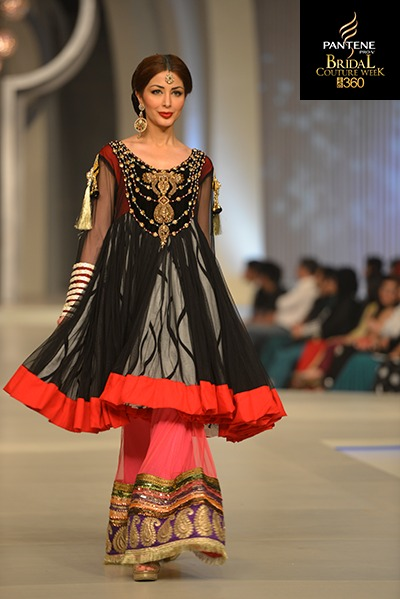Latest Asian Fashion Airline Frock Designs Collection for Pakistani Girls 2015-2016 (1)