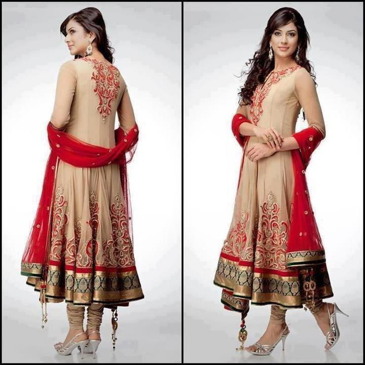 Latest Asian Fashion Airline Frock Designs Collection for Pakistani Girls 2015-2016 (48)