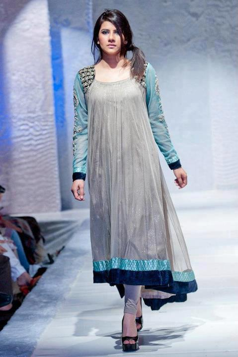 Latest Asian Fashion Airline Frock Designs Collection for Pakistani Girls 2015-2016 (57)