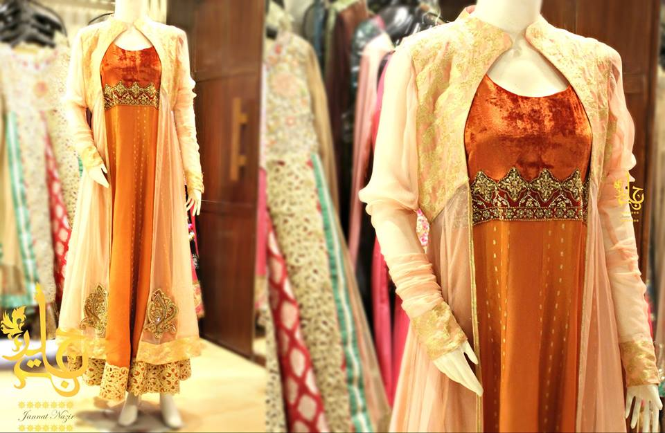 Latest Asian Fashion Airline Frock Designs Collection for Pakistani Girls 2015-2016 (60)