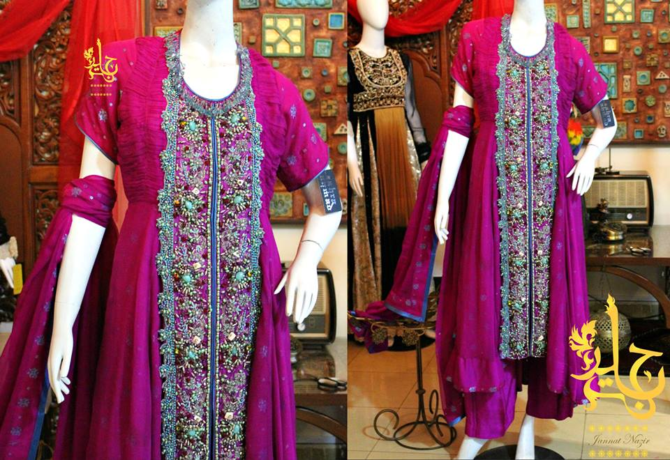 Latest Asian Fashion Airline Frock Designs Collection for Pakistani Girls 2015-2016 (64)