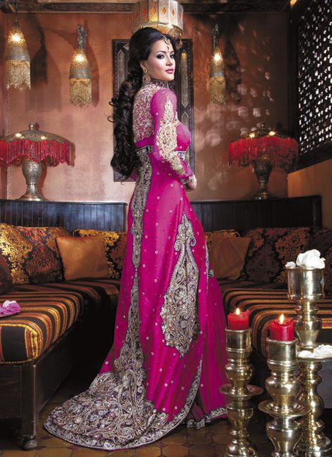 Latest Asian Fashion Engagement Dresses Designs Collection for Wedding Brides 2015-2016 (15)