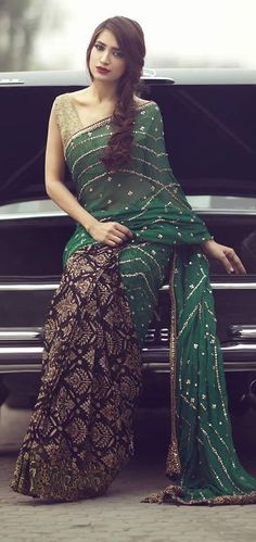 Latest Asian Fashion Engagement Dresses Designs Collection for Wedding Brides 2015-2016 (29)