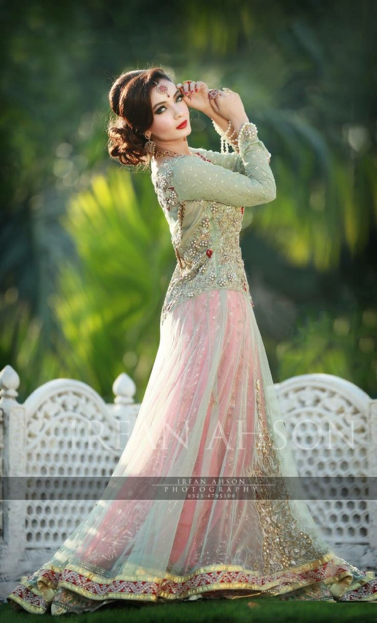 Latest Asian Fashion Engagement Dresses Designs Collection for Wedding Brides 2015-2016 (34)
