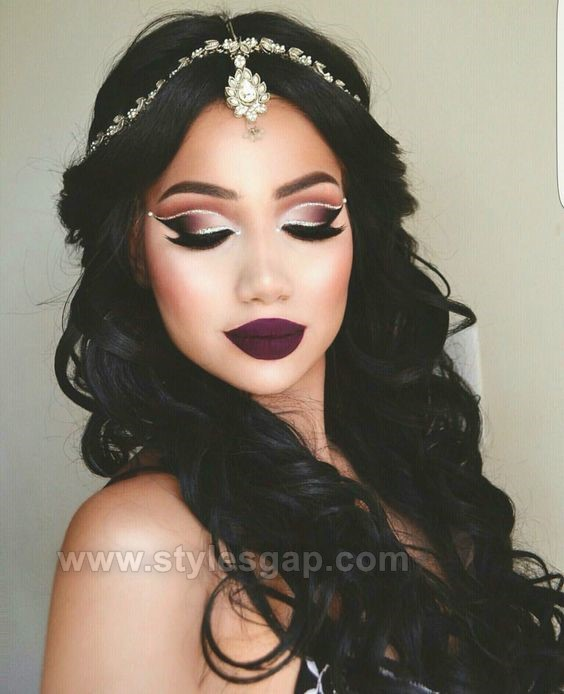 Latest Asian Party Makeup Tutorial Step By Step Looks Tips 2017-2018