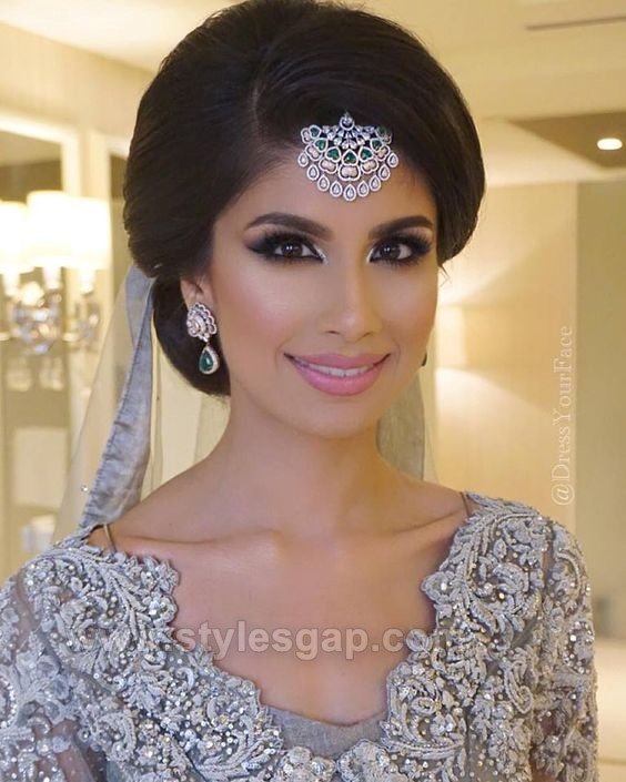 Latest Indian Bridal Hairstyles: Latest Asian Party Makeup Tutorial Step By Step Looks Tips