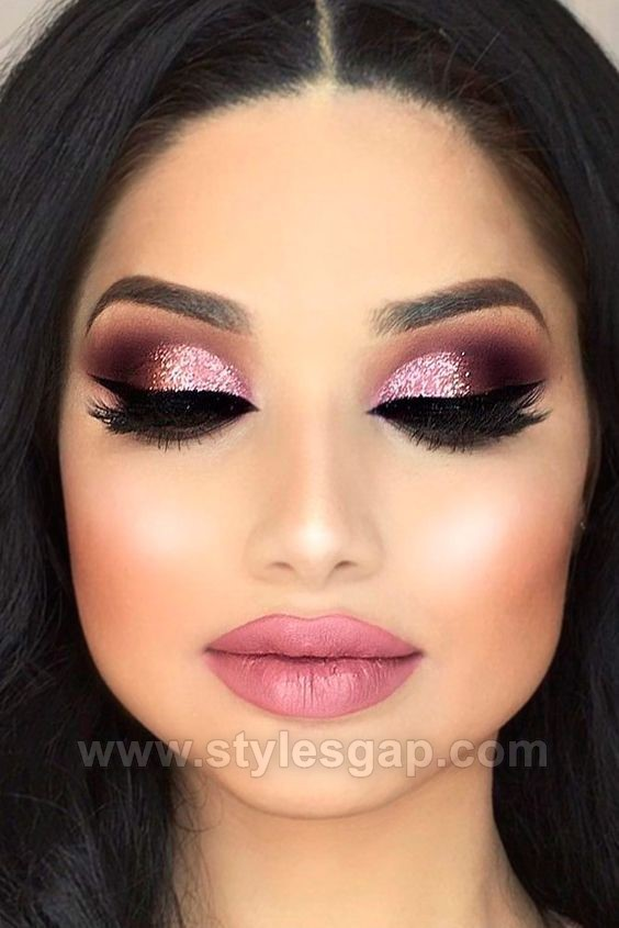 Asian party makeup