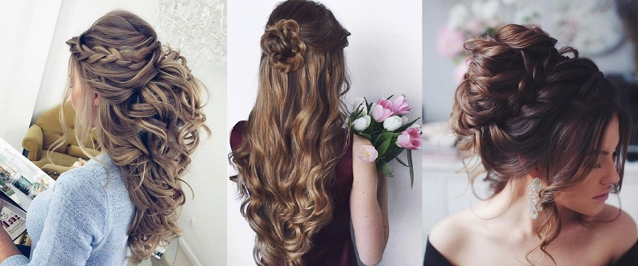 Latest Party Hairstyles Tutorial 2018-2019 Trends