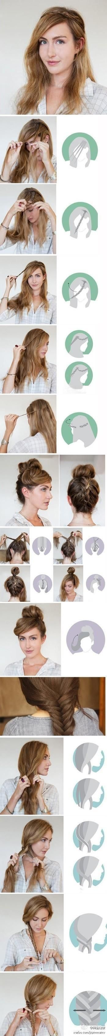 Latest Party Hairstyles Tutorial Step by Step with Pictures2015-2016 (1)