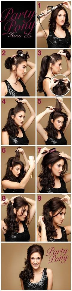 Latest Party Hairstyles Tutorial Step by Step with Pictures2015-2016 (10)