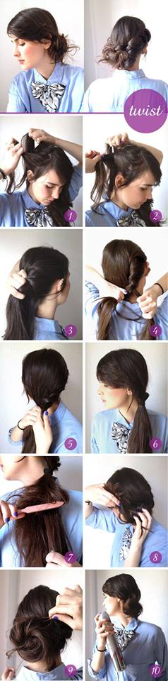 Latest Party Hairstyles Tutorial Step by Step with Pictures2015-2016 (13)