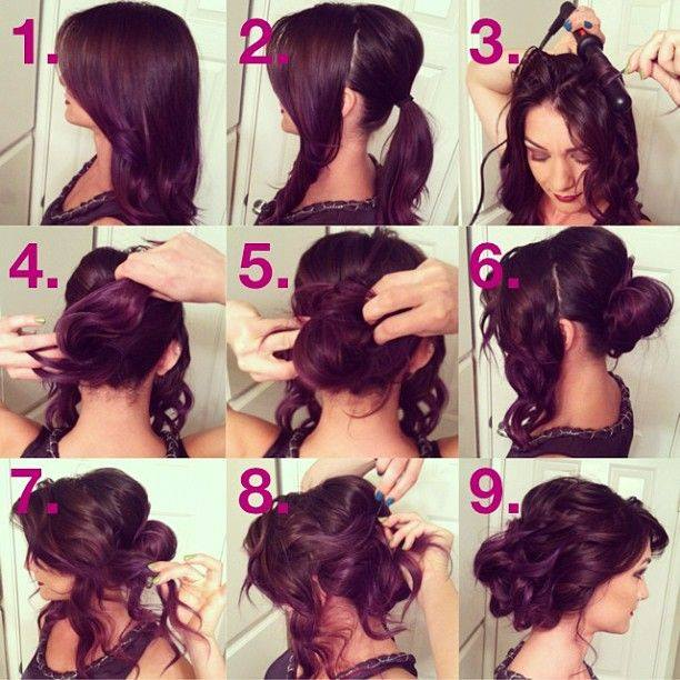 Latest Party Hairstyles Tutorial Step by Step with Pictures2015-2016 (14)