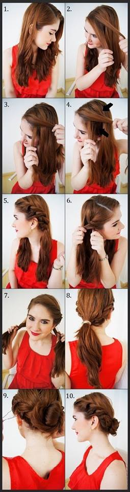 Latest Party Hairstyles Tutorial Step by Step with Pictures2015-2016 (15)