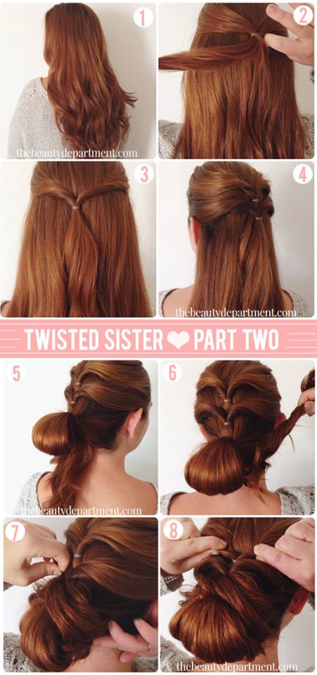 Latest Party Hairstyles Tutorial Step by Step with Pictures2015-2016 (16)