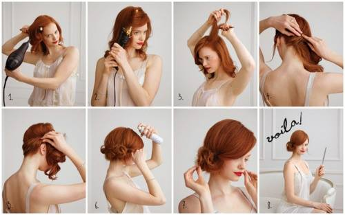 Latest Party Hairstyles Tutorial Step by Step with Pictures2015-2016 (19)