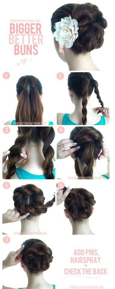 Latest Party Hairstyles Tutorial Step by Step with Pictures2015-2016 (20)