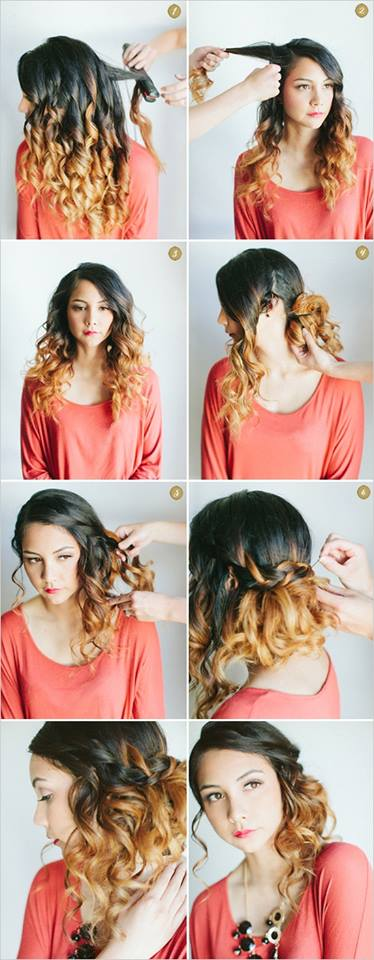 Latest Party Hairstyles Tutorial Step by Step with Pictures2015-2016 (21)