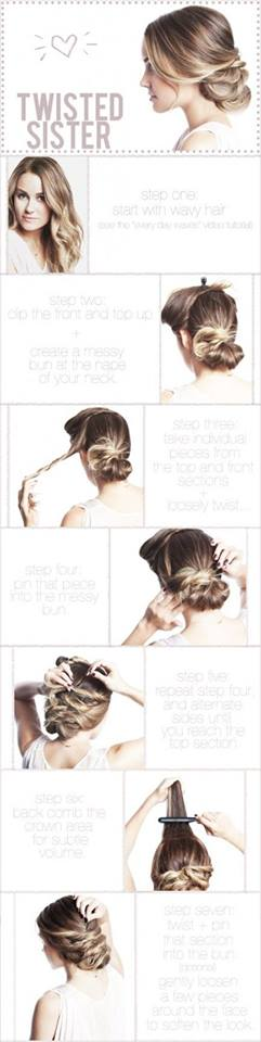 Latest Party Hairstyles Tutorial Step by Step with Pictures2015-2016 (22)