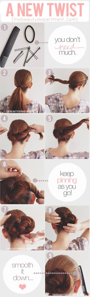 Latest Party Hairstyles Tutorial Step by Step with Pictures2015-2016 (26)