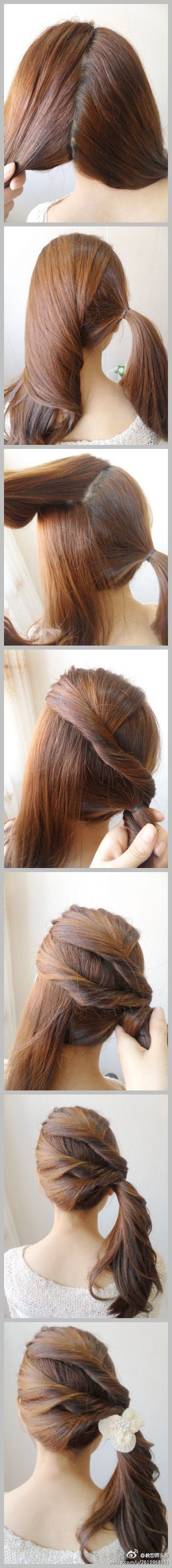 Latest Party Hairstyles Tutorial Step by Step with Pictures2015-2016 (28)