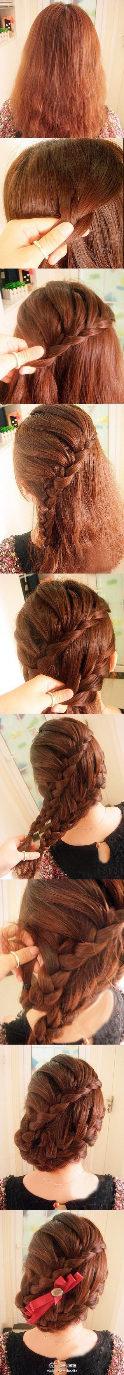 Latest Party Hairstyles Tutorial Step by Step with Pictures2015-2016 (29)