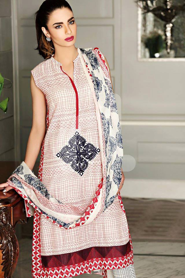 Nishat Linen Latest Spring Summer Dresses Collection for Women 2015 (10)