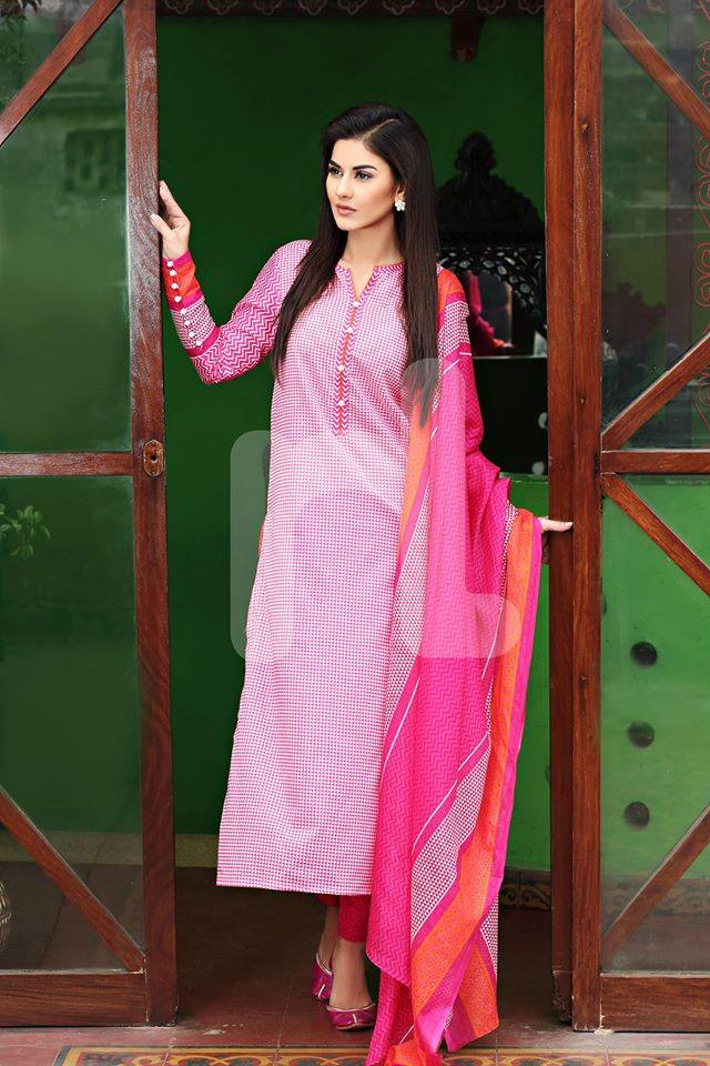 Nishat Linen Latest Spring Summer Dresses Collection for Women 2015 (12)