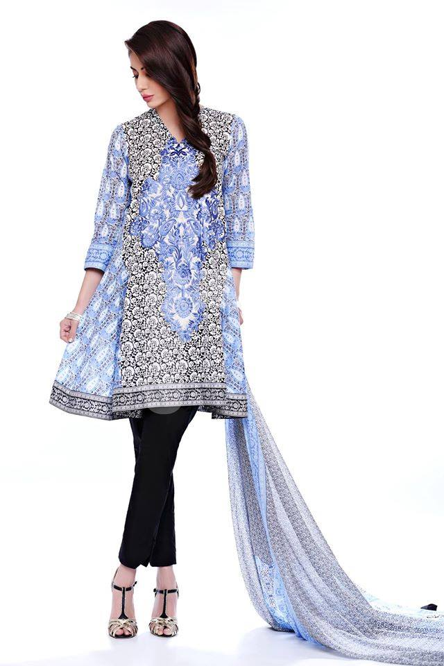 Nishat Linen Latest Spring Summer Dresses Collection for Women 2015 (13)