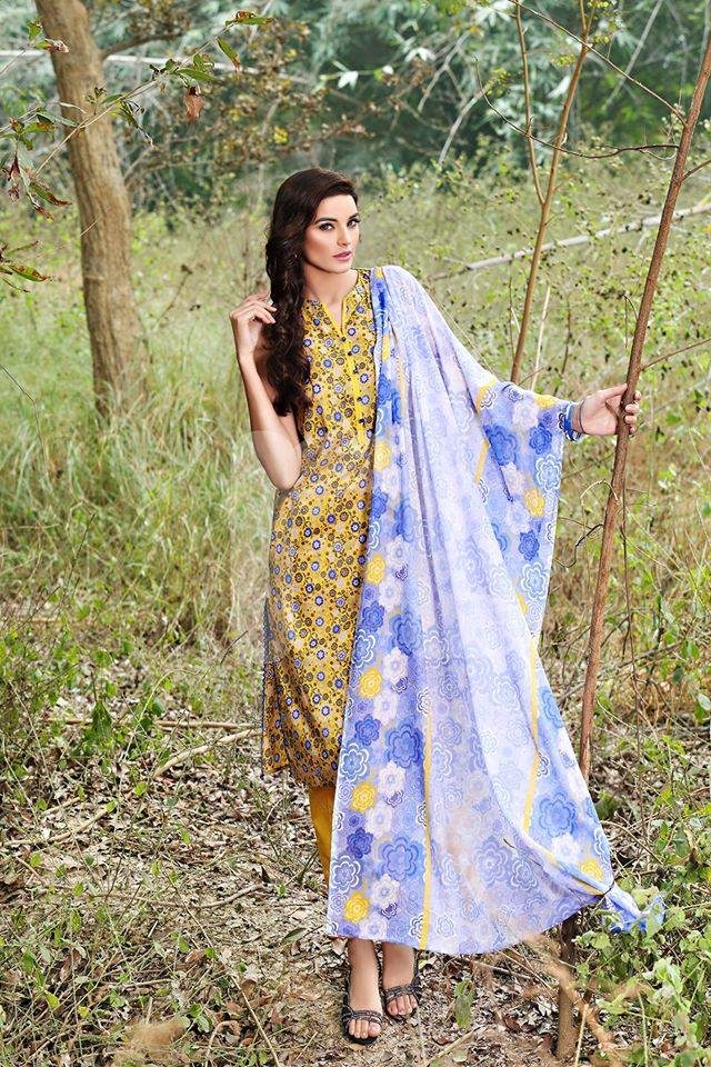 Nishat Linen Latest Spring Summer Dresses Collection for Women 2015 (15)