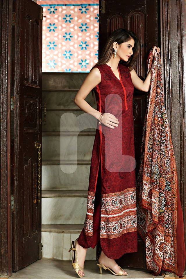 Nishat Linen Latest Spring Summer Dresses Collection for Women 2015 (16)