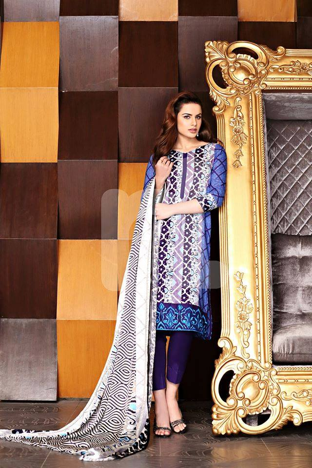 Nishat Linen Latest Spring Summer Dresses Collection for Women 2015 (18)