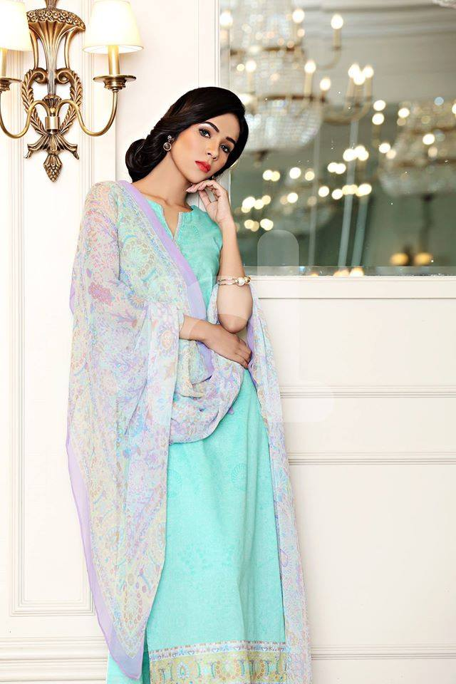 Nishat Linen Latest Spring Summer Dresses Collection for Women 2015 (3)