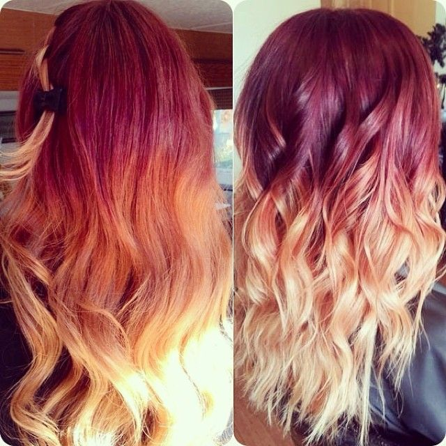 Ombre Hairstyles, Cuttings & Colors for Women Latest Trends 2015-2016 (22)