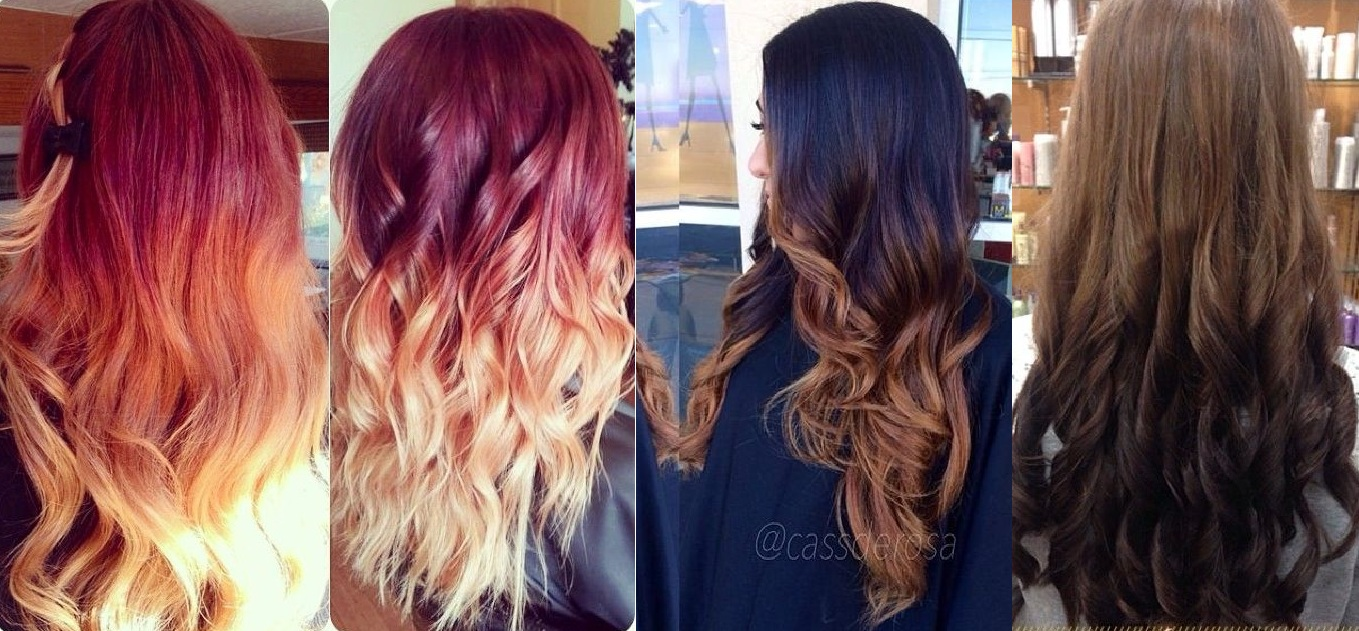 Ombre Hairstyles, Cuttings & Colors for Women Latest Trends 2015-2016