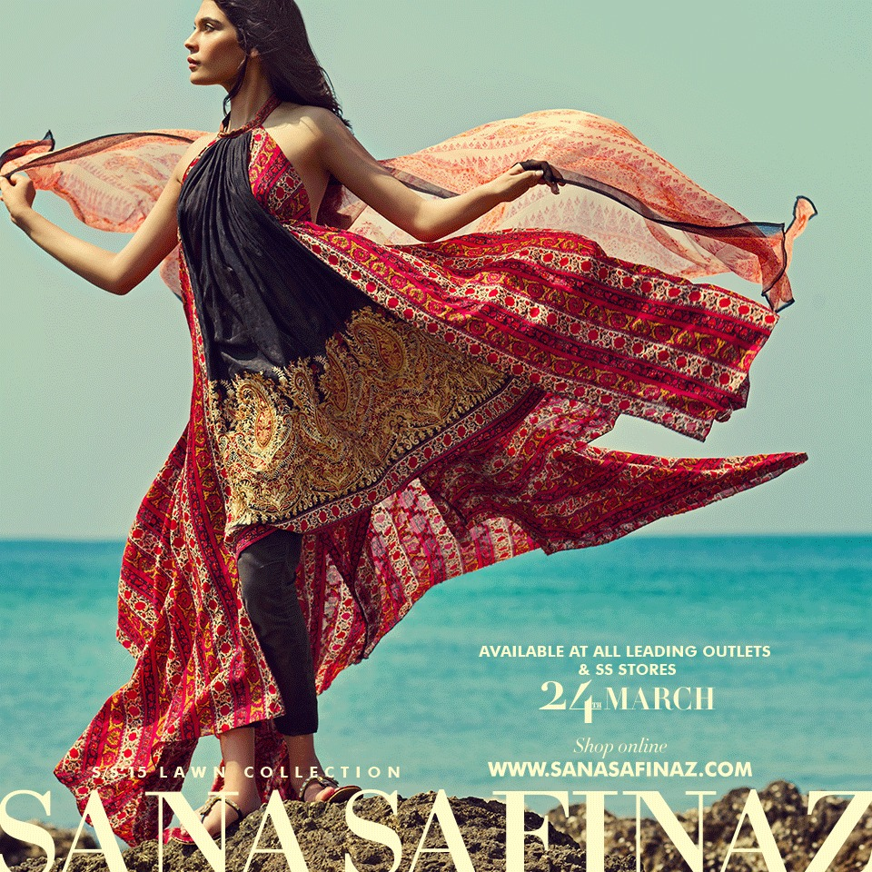 Sana Safinaz Designer Spring Summer Lawn Ready To Wear Dresses Collection for Women 2015-2016 (10)