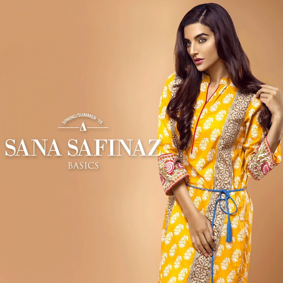 Sana Safinaz Designer Spring Summer Lawn Ready To Wear Dresses Collection for Women 2015-2016 (2)
