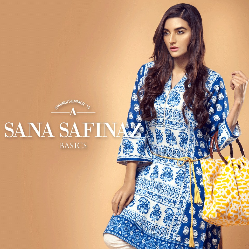 Sana Safinaz Designer Spring Summer Lawn Ready To Wear Dresses Collection for Women 2015-2016 (6)