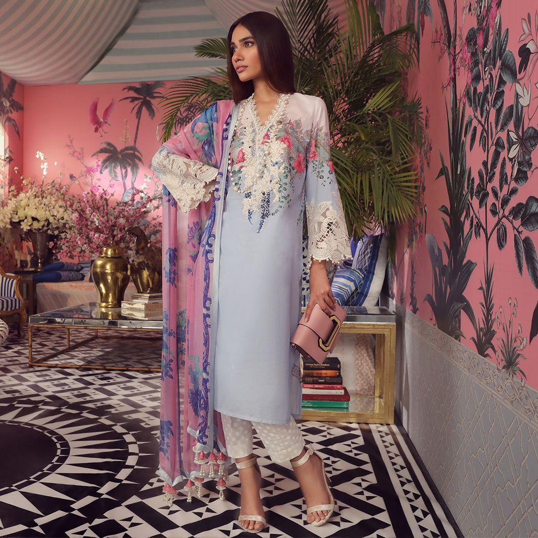 2c1cd6835c Sana Safinaz Muzlin Collection 2019-2020 Summer Lawn Suits (22 ...