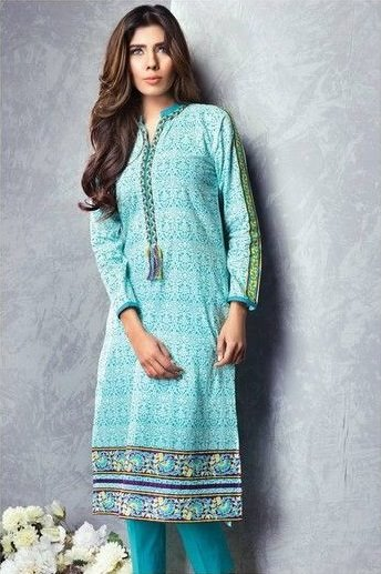 Satrangi By Bonanza Summer Lawn Spring Dresses Collection 2015-2016 (1)