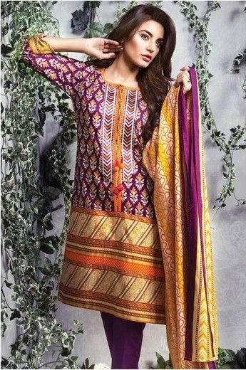 Satrangi By Bonanza Summer Lawn Spring Dresses Collection 2015-2016 (16)